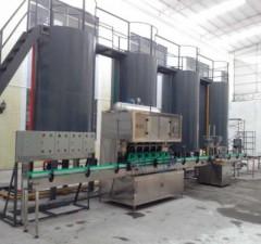 广州自动润滑油灌装生产线