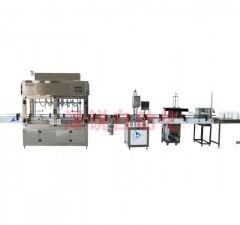 全自动液体定量包装生产线