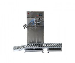 170KG heavy drum semi-automatic weighing filling machine
