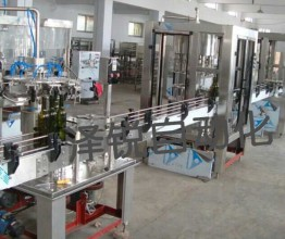 GDP-12 full automatic wine filling production line