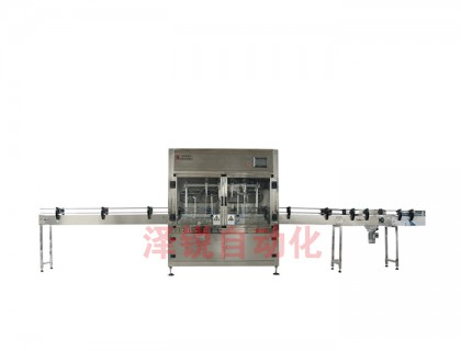 ZRDG-4小型全自动食用油灌装生产线