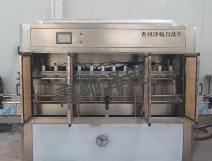 ZRDG-12全自动食用油灌装机